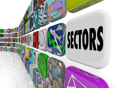3D sectors wall graphic